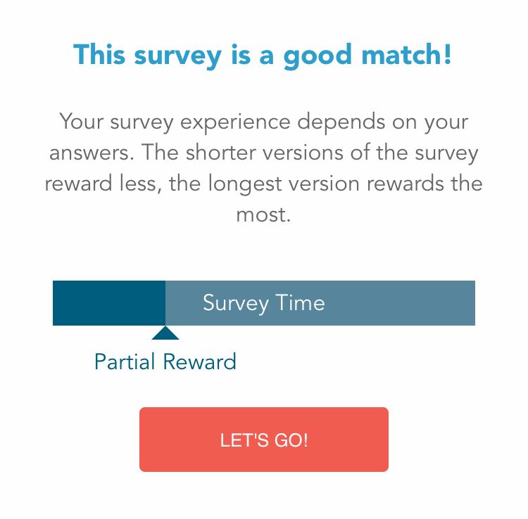 Survey Entry